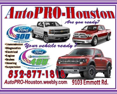 Engine Repair Rebuilt Replacements at AutoPRO-Houston Harris County TX