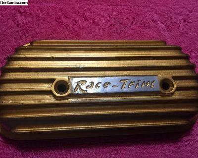 vintage 1970s race trim valve cover cast old schoo