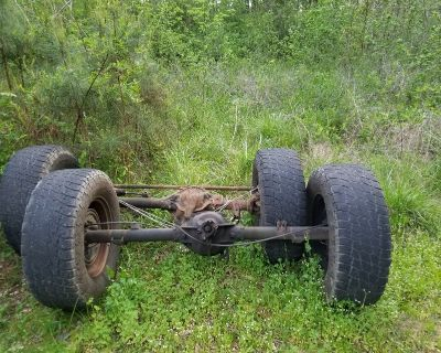 axles out of 86 k5 blazer