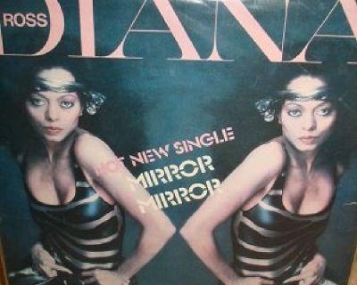 DIANA ROSS ~ Rare Mirror Mirror Ad !