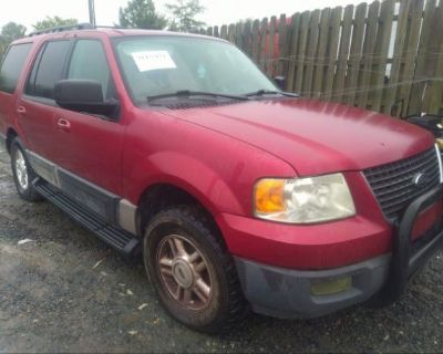 Salvage Red 2005 Ford Expedition