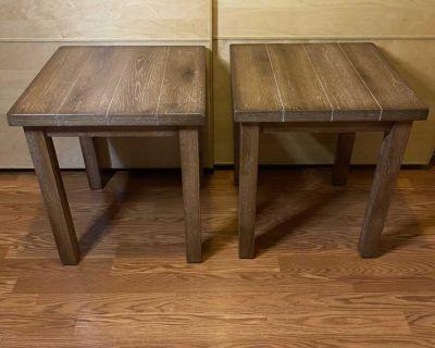Driftwood Best Master Nikki End Table