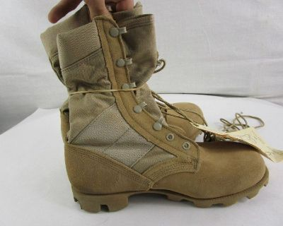 Military Issue Men's Hot Weather Boots 5.5 XW NWT