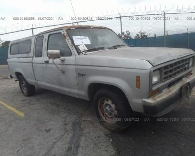 Salvage Silver 1988 Ford Ranger