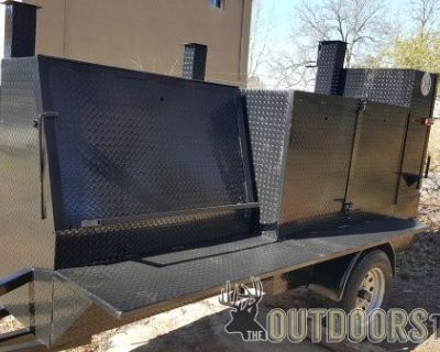 FS/FT Pro Grill Master Mobile BBQ Smoker Trailers will Trade for a Golf Cart Trades