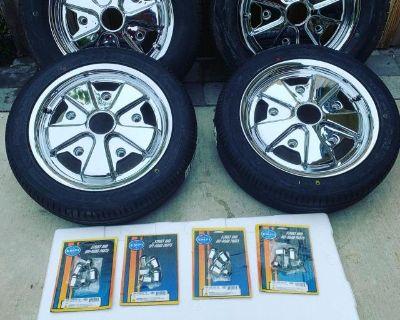 FUCHS Type Rims w/ Tires - NEW / UNUSED