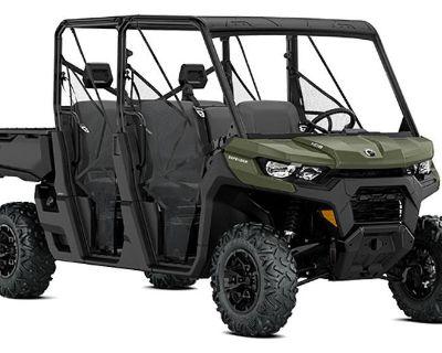 2021 Can-Am Defender MAX HD8 Utility SxS Amarillo, TX