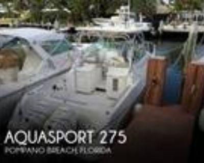27 foot Aquasport 275 Explorer