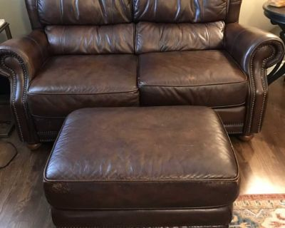 Loveseat, chair and ottoman $200