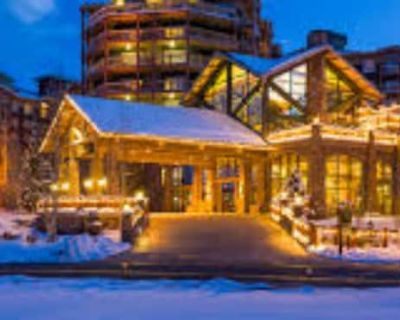 Timeshare Week Reserved January 22 through January 28, 2021 - Park City