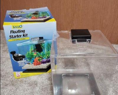 1.5 gallon fish tank and supplies/$20 OBO