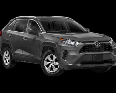 New 2021 Toyota RAV4 LE AWD Sport Utility