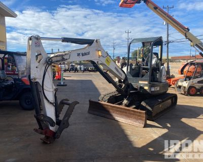 2016 Bobcat E50 Mini Excavator