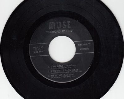 TURBANS ~ NUTMEGS ~ FIVE SATINS + 3 ~RARE 45 rpm EP ~ NO SLEEVE !