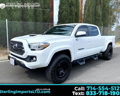 Used 2016 Toyota Tacoma TRD SPORT DOUBLE CAB 4WD LONG BED,V6 AUTO