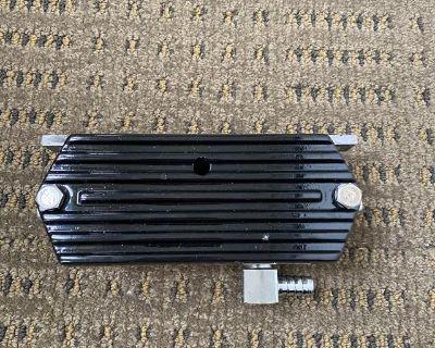 Breather box aluminum