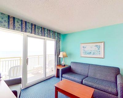 12th floor ocean view condo w/ shared hot tub, shared pool, WiFi, central AC - Crescent Beach