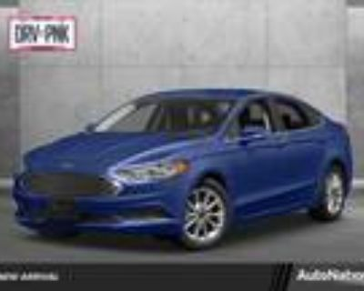 2017 Ford Fusion Blue, 74K miles