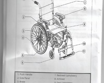 Wheelchair and walker in top condition