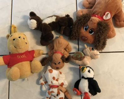 Assorted Plush Toys - Thickson & Rossland, Whitby