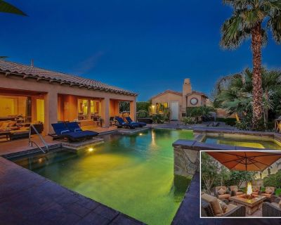 Azul: Pool, Spa, Pizza Oven, Fire Pit, Games - Indio