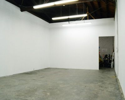 Downtown White Cube Gallery Space Art Studio with Skylights High Ceilings, Los Angeles, CA