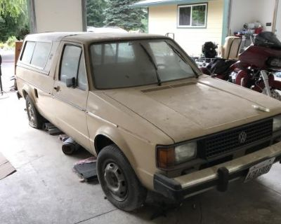 Two VW Rabbit Pickups (Caddy)
