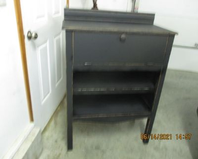 Old distressed cabinet