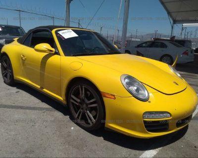 Salvage Yellow 2012 Porsche 911