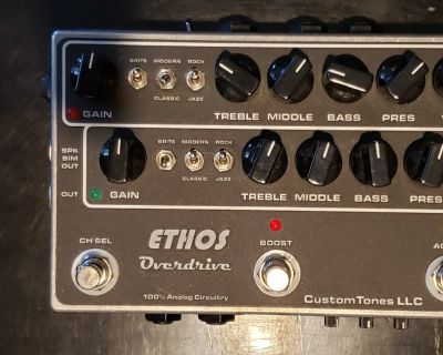 Ethos Overdrive Amp (built in 30w amp)