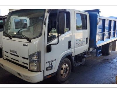 2013 Isuzu NPR HD Crew Cab Diesel with 14ft Steel Dump.85K Miles
