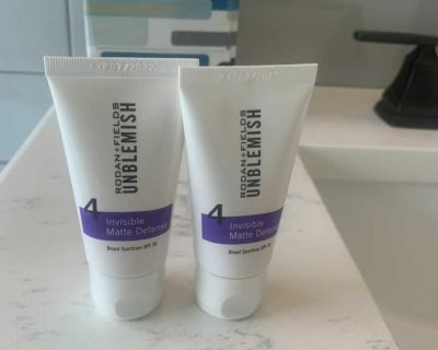 Rodan and Fields Unblemished Moisturizer with SPF