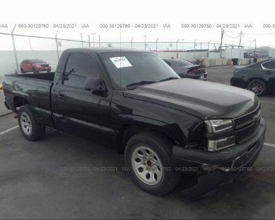 Salvage Black 2006 Chevrolet Silverado 1500