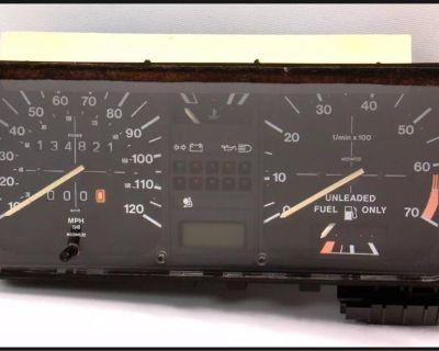WTB 90-93 Cabriolet Gauge cluster/Speedometer