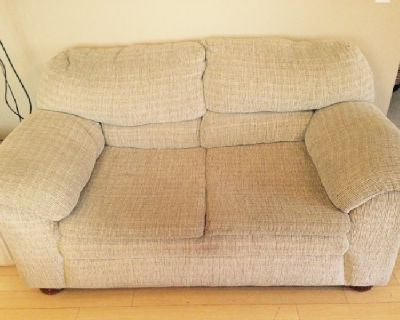 Set of couches - sofa, loveseat & chair. Great condition!