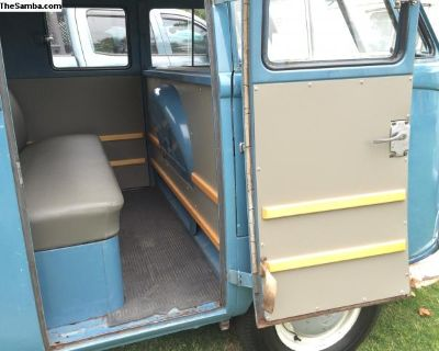 M502 Crew / Double Cab Truck Interior Panel Set
