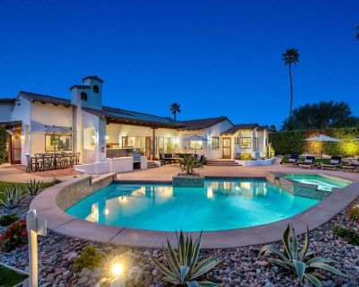 Luxe Villa in Movie Colony E, Downtown close, 4 King Beds, 3.5 Ba, Views, Garage - Palm Springs