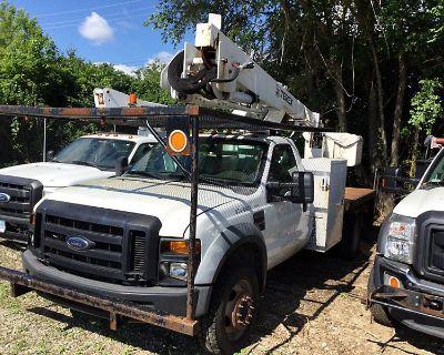 2010 FORD F550 Boom, Bucket, Crane Trucks Truck
