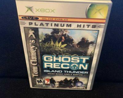 Tom Clancy's Ghost Recon: Advanced Warfighter (Xbox, 2006)