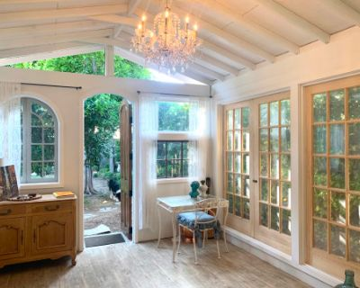 Beautiful Residential Production Space w/ Large Backyard & Cottage, South Pasadena, CA