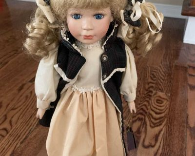 Rebecca Collection Porcelain Doll