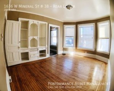 1636 W Mineral St #REARLOWER, Milwaukee, WI 53204 2 Bedroom House