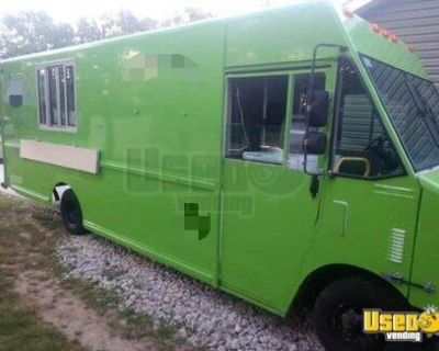 Chevrolet P30 Diesel Step Van Pizza Truck / Turnkey Ready Mobile Pizzeria