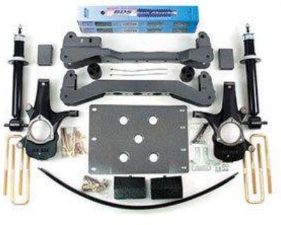 "Bds 6"" Suspension Lift Kit Chevy Silverado Gmc Sierra 1500 07-12 2wd 5.3l 4.8l"
