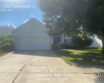 Now showing  ... 3 bedroom, 2 bath home located at 13382 Grosbeak Ct., Carmel, IN