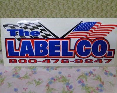 Sticker, Racing, Race Car, The Label Co.