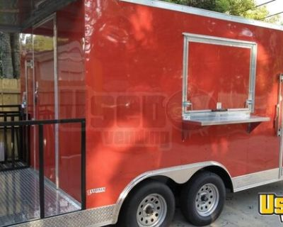 CUSTOM TO ORDER NEW 8.5' x 20' Freedom Food Concession Trailer with a 4' Porch