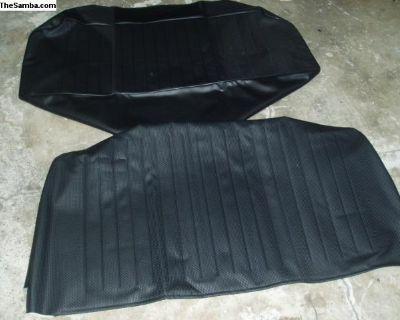 Tmi Blk back seat cover new