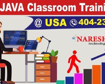 Java Classroom Training Denver - NareshIT