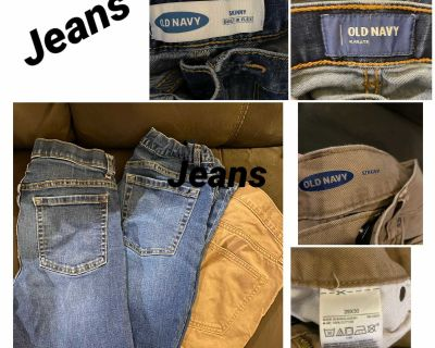Teen boys jeans and shorts